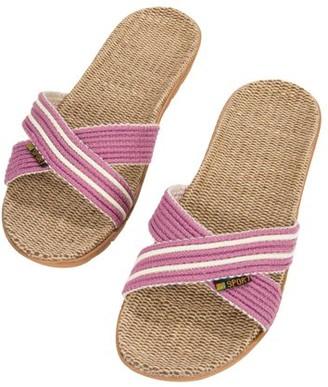AERUSI Aerusi Voca Women's Slide Slip On Flip Flop Sandals