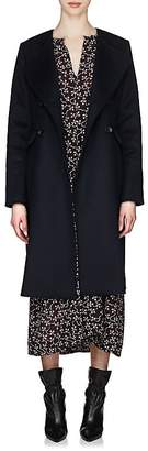 Isabel Marant Women's Fanki Wool-Cashmere Collarless Coat