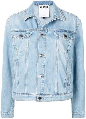 Versus cropped denim jacket