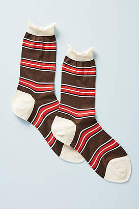 Hansel from Basel Seriously Striped Crew Socks