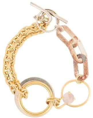 Wouters & Hendrix contrast chain bracelet