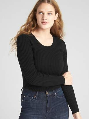 Gap Ribbed Crewneck Pullover Sweater