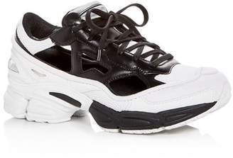 Raf Simons for Adidas Unisex Replicant Ozweego Lace-Up Sneakers