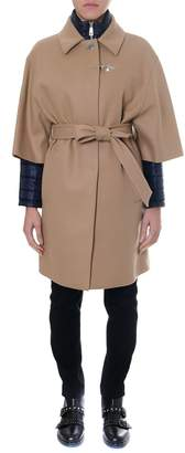 Fay Camel Double Layer Cashmere Coat