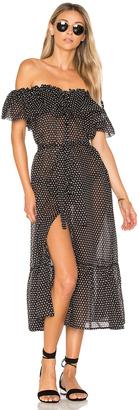 Lisa Marie Fernandez Mira Button Down Dress $795 thestylecure.com