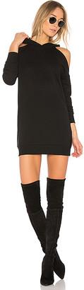 by the way. Delia Cold Shoulder Sweatshirt Dress