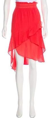 IRO Flared Midi Skirt