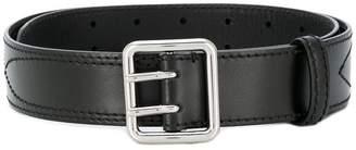 MM6 MAISON MARGIELA stitching detail buckle belt