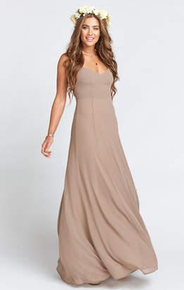 Show Me Your Mumu Godshaw Goddess Gown ~ Dune Chiffon