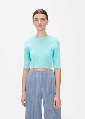 Pleats Please Issey Miyake GLASS COLORS Crop Top