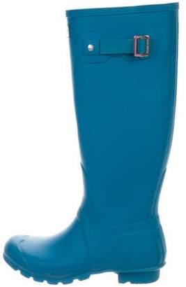 Hunter Rubber Knee-High Boots
