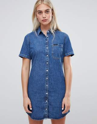 Calvin Klein Deryn denim shirt dress
