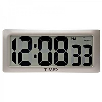 Timex AcuRite 13.5-inch Intelli-Time Extra-Large Digital Clock