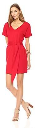 Wild Meadow Women's Short Sleeve Dolman Reversible Mini Dress