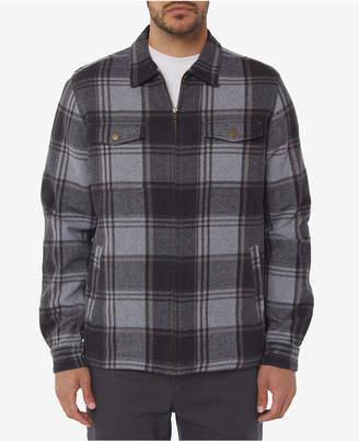 O'Neill Men's Lodge Plaid Flannel Jacket