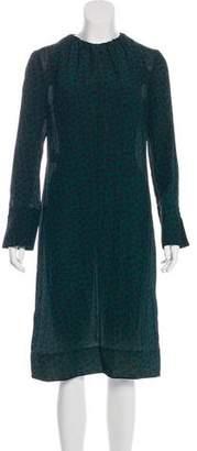 Marni Silk Midi Dress