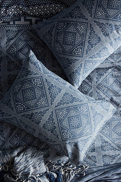 Buy Kerchief-Printed Shams!