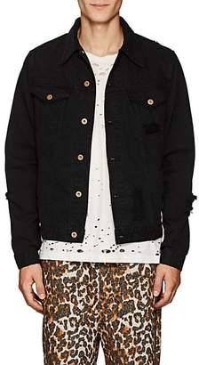 NSF Men's Carson Distressed Denim Jacket - Black