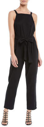 3x1 Antifit Sleeveless Cropped Cotton Jumpsuit