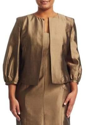 Marina Rinaldi Marina Rinaldi, Plus Size Certezza Silk Jacket
