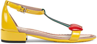 Children's patent leather sandal $450 thestylecure.com