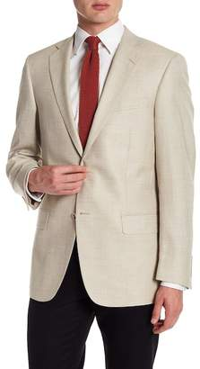 Hart Schaffner Marx Tan Two Button Notch Lapel New York Fit Sport Coat
