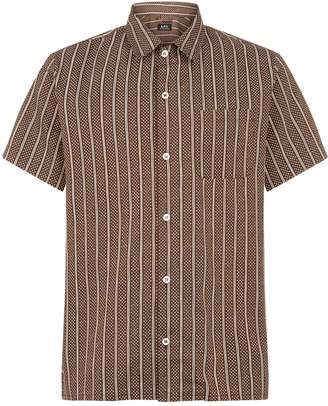 A.P.C. Spotted Stripe Shirt