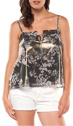 Dex Metallic Printed Camisole