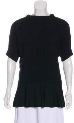 Etro Knit Shot Sleeve Sweater