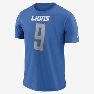 Nike Player Pride Name and Number (NFL Lions / Matthew Stafford) Men's T-Shirt