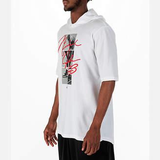Nike Men's Jordan Sportswear MJ Signature Hooded T-Shirt