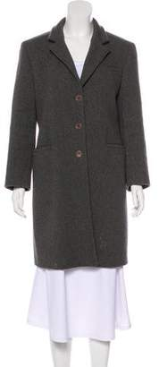 Miu Miu Wool Knee-Length Coat