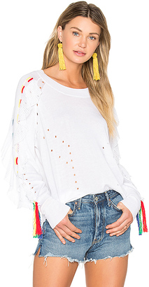 Wildfox Couture Solid Sweater in White $188 thestylecure.com