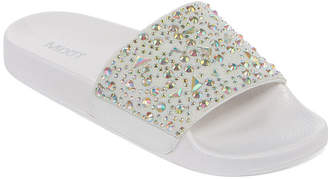 Pool' MIXIT Mixit Womens Gem Pool Slide Sandals