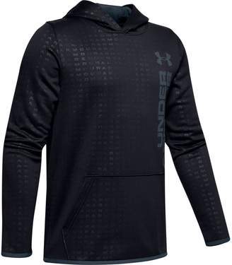 Under Armour Boys 8-20 Boys' Armour Fleece Embossed Pull-Over Hoodie