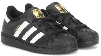 adidas Kids Superstar leather sneakers