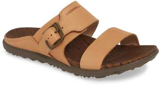 Merrell Around Town Luxe Buckle Slide Sandal