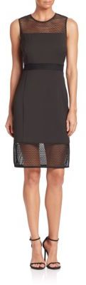 Laundry by Shelli Segal Eyelet Sheath Dress $225 thestylecure.com