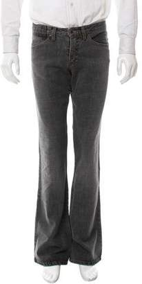 Andrew Mackenzie Flat Front Bootcut Jeans
