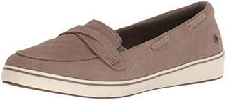 Grasshoppers Women's Windham Suede Boat Shoe
