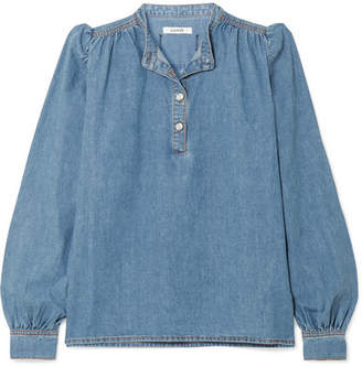 Ganni Denim Blouse - Light denim