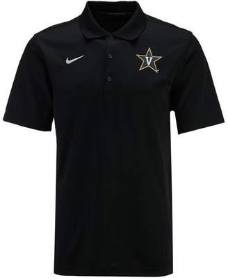 Nike Men Vanderbilt Commodores Varsity Team Logo Polo