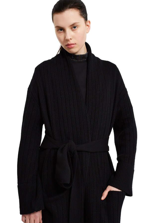 Callipygian Cashmere Long Robe