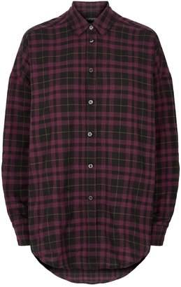 Adaptation Check Drop Shoulder Shirt