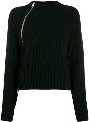 MRZ side zip detail sweater