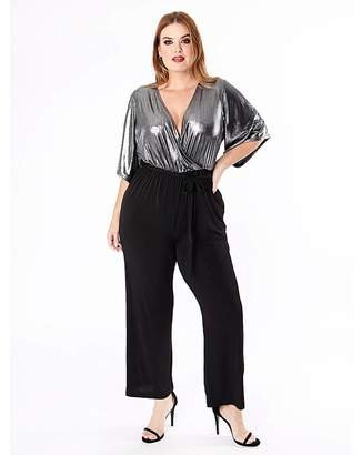 Black And Silver Jumpsuit Shopstyle Uk