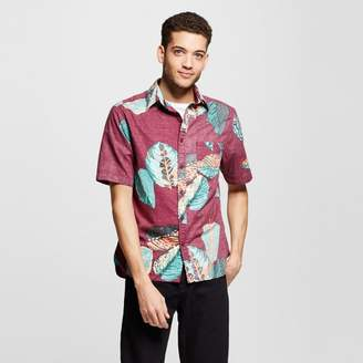 Mossimo Supply Co. Men's Short Sleeve Button Down Shirt Tropical Print - Mossimo Supply Co. $19.99 thestylecure.com