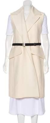 Celine Belted Wool Vest
