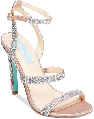 Betsey Johnson Blue By Aubry Evening Sandals Women's Shoes