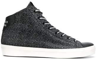 Leather Crown W1336 hi-top sneakers